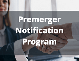 Premerger Notification Program