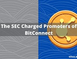 BitConnect Charged for Promoting Digital Assets