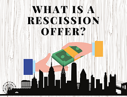 Rescission Offer