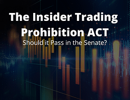 The Insider Trading Prohibition ACT