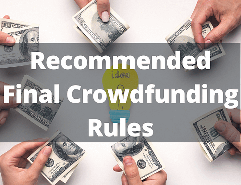 Recommended Final Crowdfunding Rules