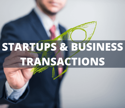 Stratups and business Transactions