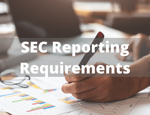 SEC Reporting Requirements - The Bradshaw Law Group