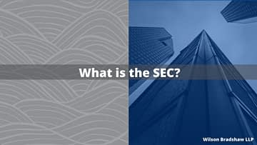 What is the SEC