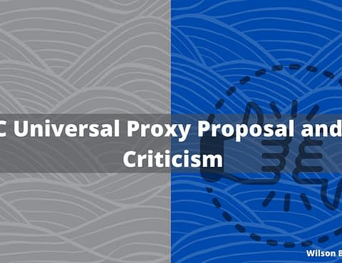 Universal Proxy Rules - The Bradshaw Law Group Corporate Securities attorneys in irvine, ca