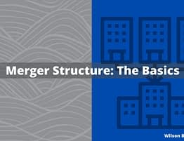 Merger Structure - The Bradshaw Law Group - Securities Attorney irvine, ca
