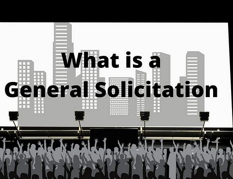what is a general solicitation