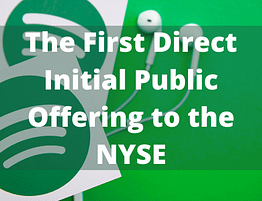 initial public offering - Spotify